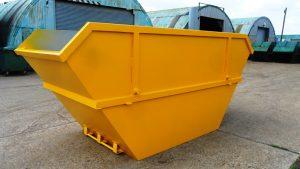 Yellow Skip In Yard