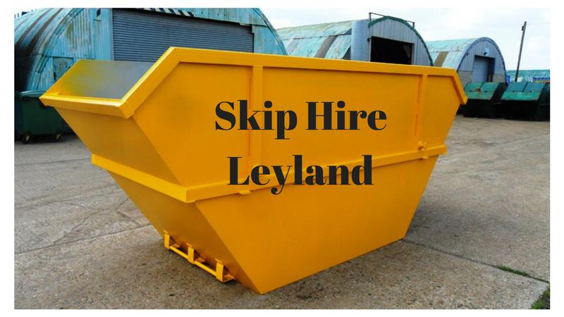 Skip Hire Leyland at Lostock Skip Hire