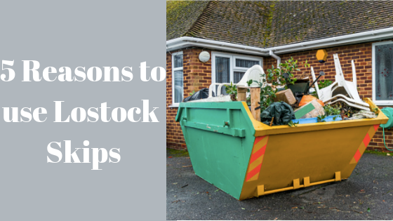 5 Reasons to use Lostock Skips